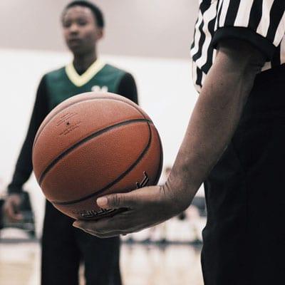 basketball personal injury