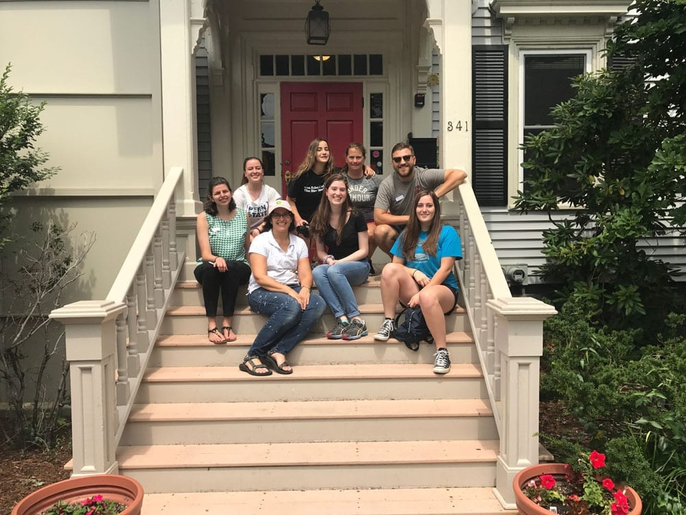 THL Lawyers Volunteer for Trial Lawyers Care Service Day in Boston
